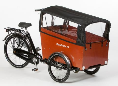 example of hire bike - Bakfiets Trike