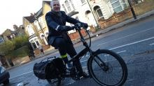 Tern Cargo Node with Xtracycle mega panniers