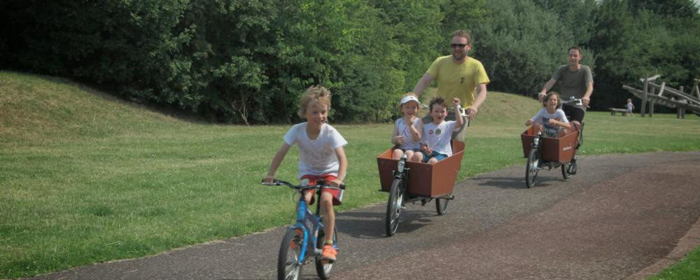 We help out a charity bike ride up the Lea Valley for Burundi street kids
